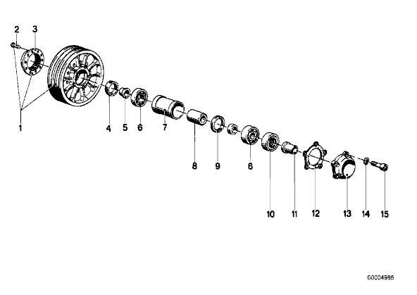 R60/7 roue arriere qui bloque au serrage