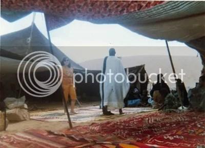Bedouin dancing. From Puerto de la Cruz and the Spanish Sahara, The Doglady's Den