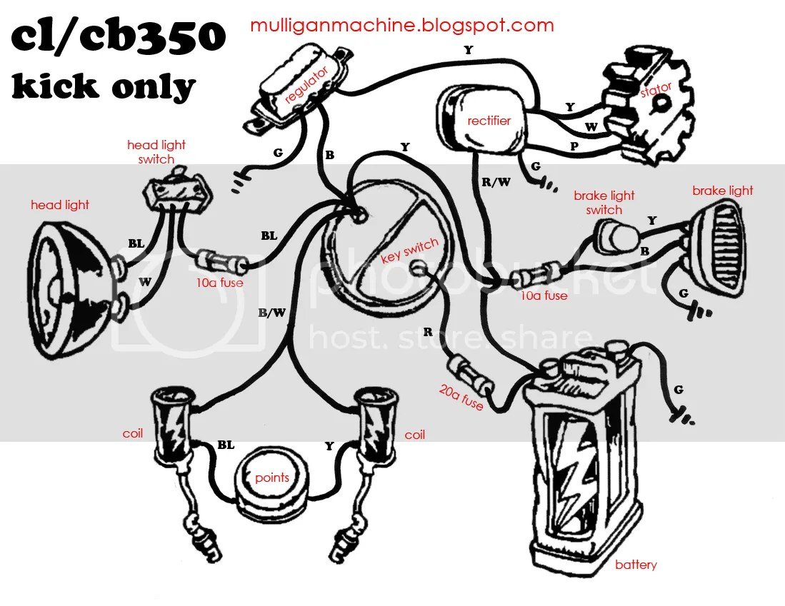 would this cb360 wiring diagram work for my cb450
