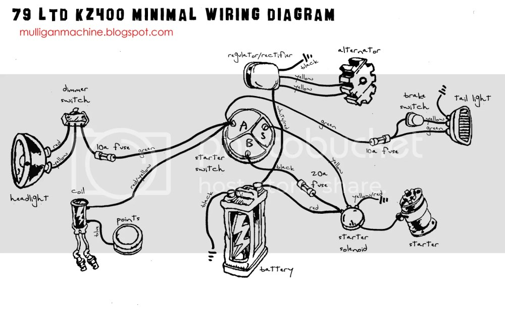 medium resolution of kz400 minimal wiring diagram wiring diagram newkz400 wiring diagram wiring diagram load kz400 minimal wiring diagram