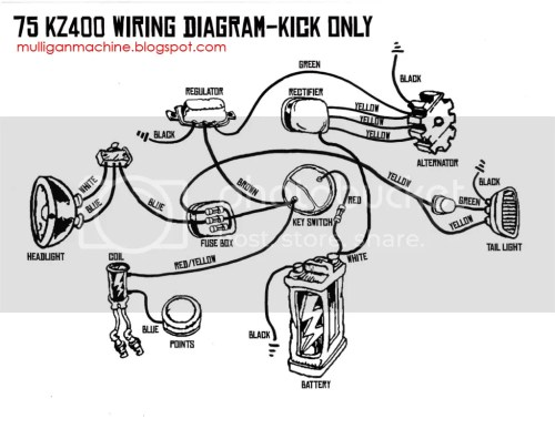 small resolution of kz400 wiring help ex500 wiring diagram here ya go i732 photobucket com albums ww326 hatchethairy2 kz400b