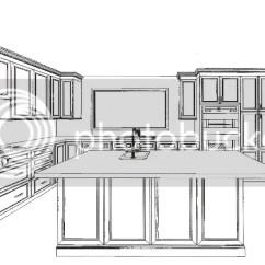 Lowes Kitchen Cabinets Sale How Much Are Remodels 房崇 文学城博客 他们看了我的草图 只是算一下橱柜总长度的line Feet 乘以现成的不同柜门的每尺价格 给我上中下三个选择价钱 介乎2 3万之间 这价钱比我最后在directbuy付的贵出