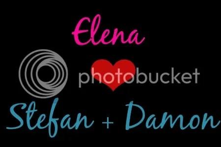 Elena + Stefan + Damon