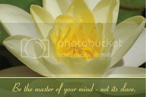 Be the master of your mind - not its slave. Pictures, Images and Photos