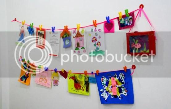 wall gallery, galeri karya anak