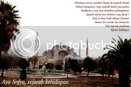 Aya Sofya, Foto Aya Sofya ini kuambil di Istanbul, Turkey, tanggal 14 februari 2012, pukul 11.40 waktu setempat.