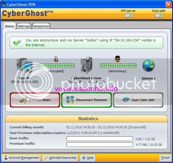 Sử dụng tài khoản Premium của CyberGhost VPN miễn phí 1 năm