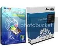 Fresh RAM V5 + EASEUS Partition Master Pro 7 miễn phí