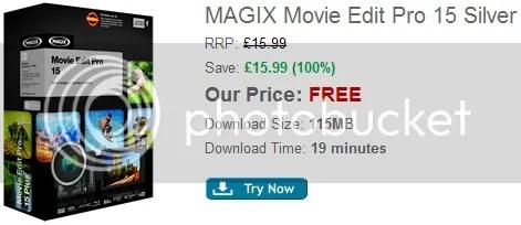 Bản quyền MAGIX Movie Edit Pro 15 Silver miễn phí