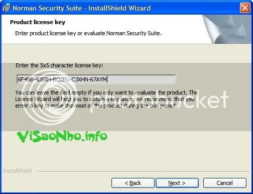 Bản quyền Norman Antivirus & Antispyware miễn phí 3 năm