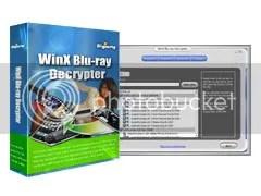 Bản quyền WinX Blu-ray Decrypter miễn phí