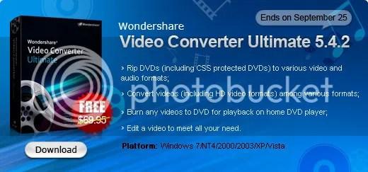 Download Wondershare Video Converter Ultimate với key bản quyền miễn phí