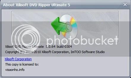 Bản quyền Xilisoft DVD Ripper Ultimate miễn phí