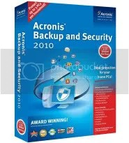 Acronis Backup and Security 2010: Key bản quyền 3 tháng