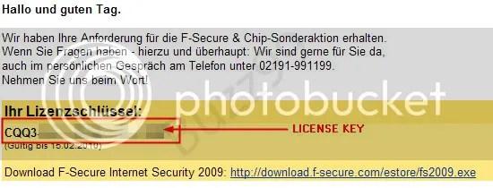 Bản quyền F-Secure Internet Security 2010 miễn phí 90 ngày