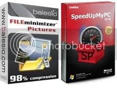 FILEminimizer Pictures 2.0 và SpeedUpMyPC 2010: Key bản quyền miễn phí