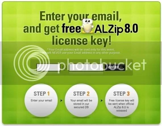 Nhận key bản quyền ALZip 8.0 miễn phí