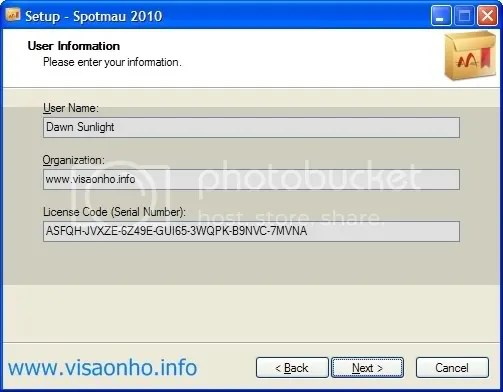 Spotmau Tuneup Kit 2010 với key bản quyền miễn phí