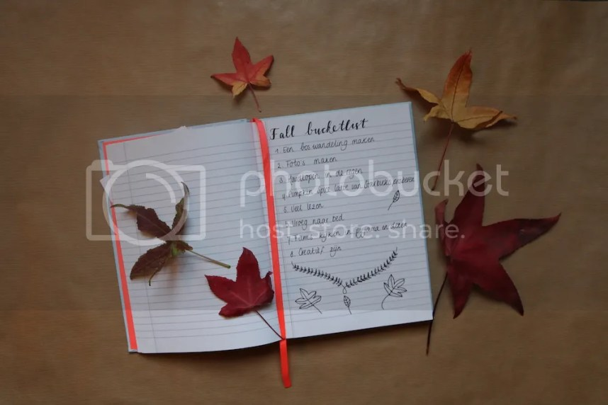 bucketlist, fall, herfst, 2016, todo, lifewithanchors