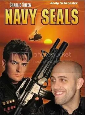 If Charlie Sheen can pull off the Navy Seal look, I surely can.