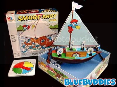 I never understood why they made a game about Smurfs sailing, but it ruled regardless.