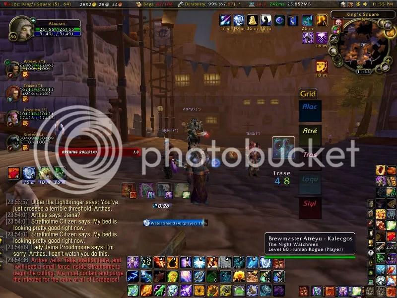 Alacran's Healer UI Cataclysm