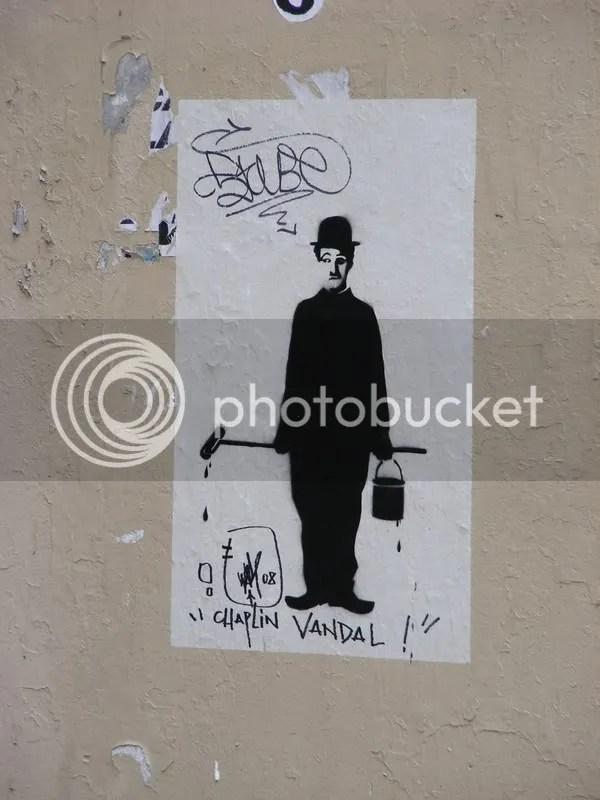 Chaplin, vandalul!