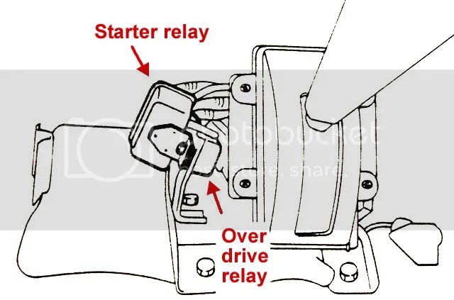 [1989 Maserati Spyder How To Replace Overdrive Relay