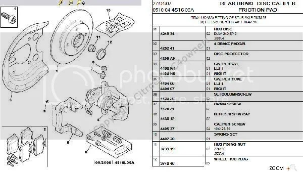 Forums / C4 The Garage / C4 2007 1.6 diesel EGS rear brake