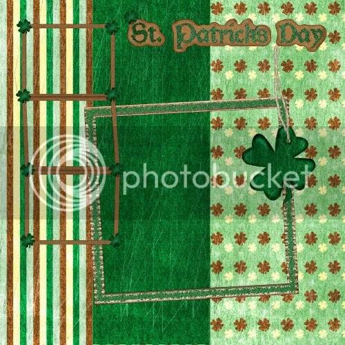 St. Patricks Day Digital Scrapbooking