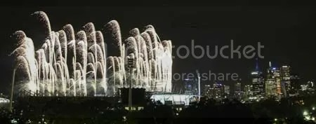 Opening Ceremony Fireworks