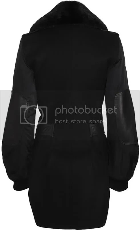 Alexander Wang Aviator Tailcoat (Rear view)