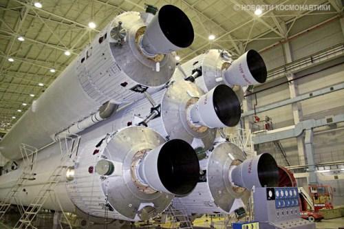 0005 i10 La Russie opère la raquette cosmique la plus rapide du monde