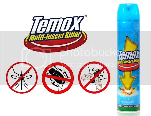 Keep Pests Away With Temox Multi-Insect Killer