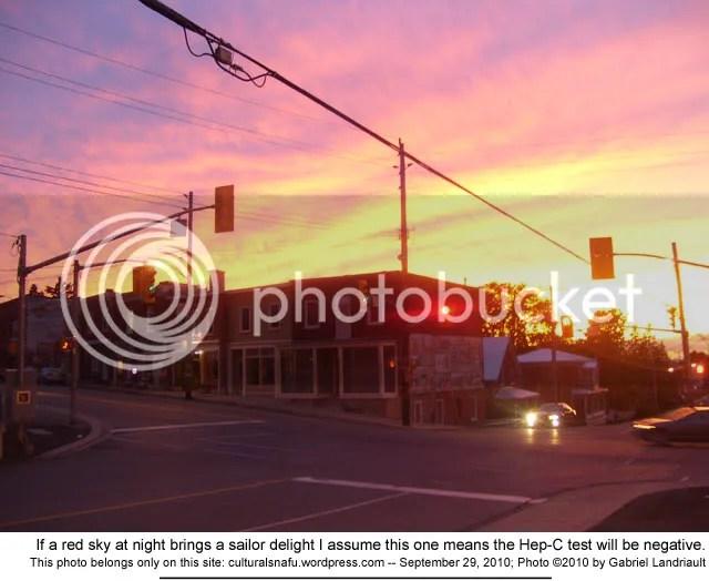 Vankleek Hill sunrise