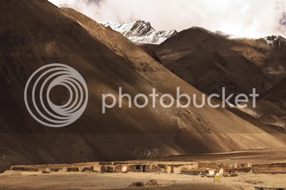 Houses left behind, Ladakh