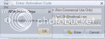 AllMyNotes Organizer 1.37 Deluxe Edition: Serial key miễn phí