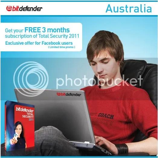 BitDefender Total Security 2011 miễn phí 90 ngày