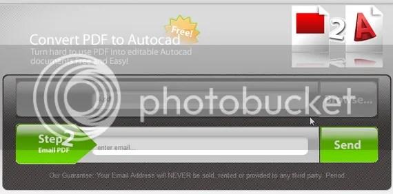 Chuyển đổi PDF sang bản vẽ AutoCAD