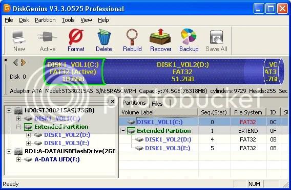 Download DiskGenius 3 với key bản quyền miễn phí