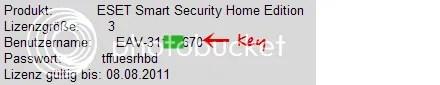 ESET Smart Security 4 với key bản quyền 6 tháng