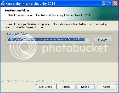 Sử dụng key code của Kaspersky Security Suite CBE 11 cho Kaspersky Internet Security 2011