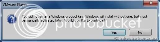 Cài đặt Windows 8 trên phần mềm máy ảo VMware Player