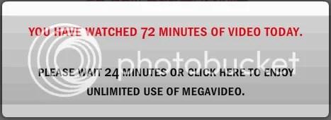 Loại bỏ giới hạn 72 phút khi xem phim trên MegaVideo