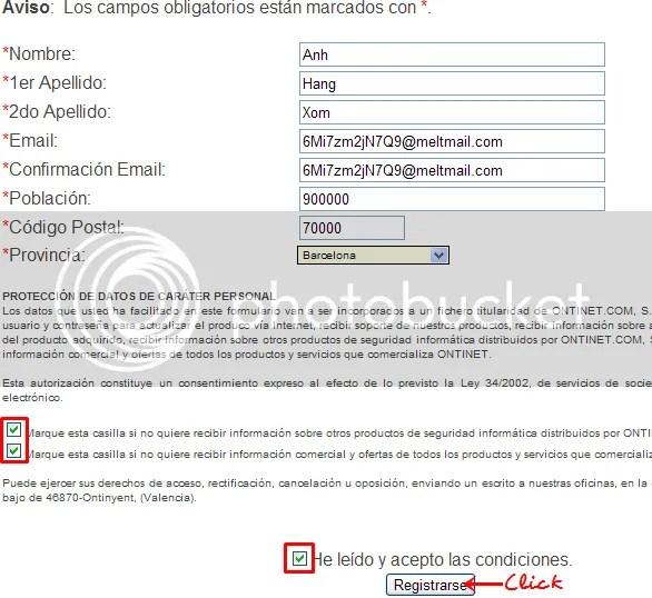 Key bản quyền ESET NOD32 Antivirus 4 miễn phí 3 tháng