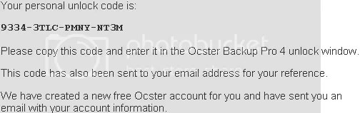 Ocster Backup Pro 4 miễn phí