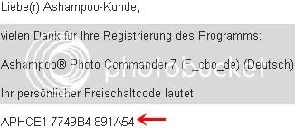 Bản quyền Ashampoo Photo Commander 7.50 miễn phí