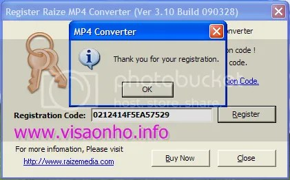 Key Code Raize MP4 Video Converter 3.10
