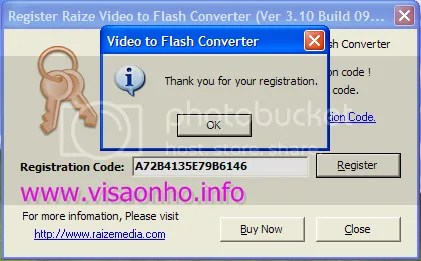 Raize Video to Flash Converter 3.10 miễn phí
