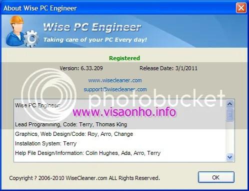 Phiên bản đầy đủ Wise PC Engineer 6.3.3 miễn phí